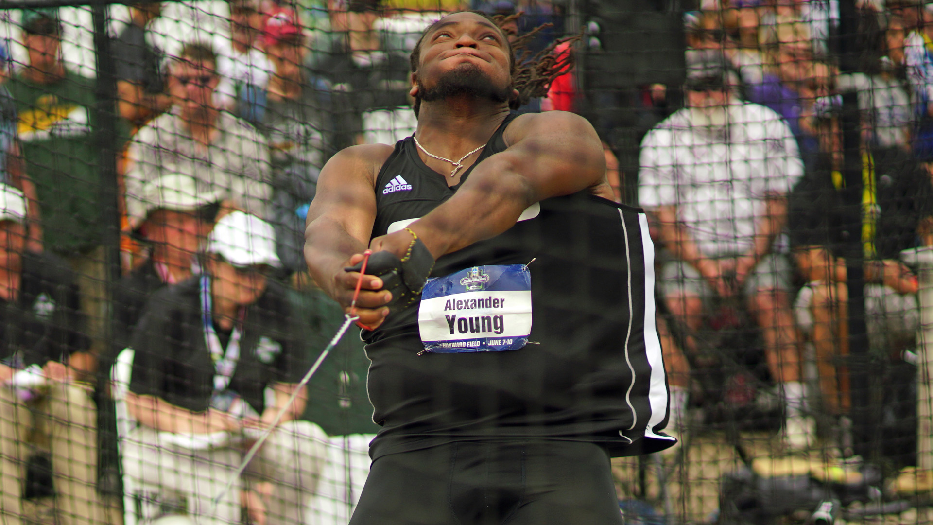 Alex Young, hammer throw